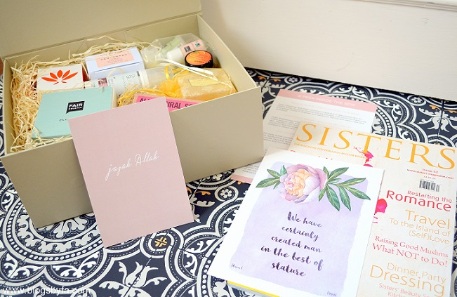 Halal Goodies: Luxury Subscription Box for Muslim Women in