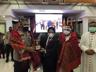 Kapolda Ajak Elemen Mahasiswa Saling Menjaga Kamtibmas yang Kondusif di Sumut