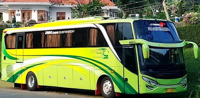 Sewa Bus Pariwisata HDD / SHD Murah di Surabaya