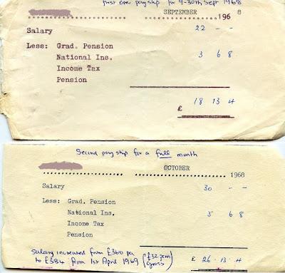 1968 payslips