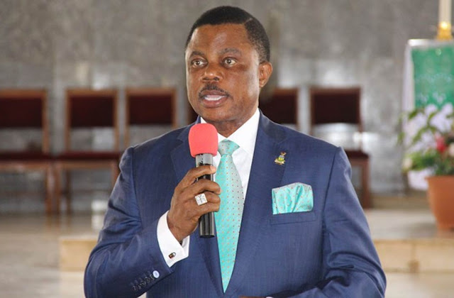 COVID-19 - Gov Obiano Reopens Nnewi New Motor Spare Parts Market