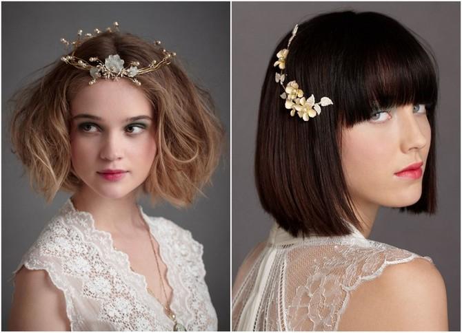 Fashion-Bride: Top 7 Short Wedding Hairstyles
