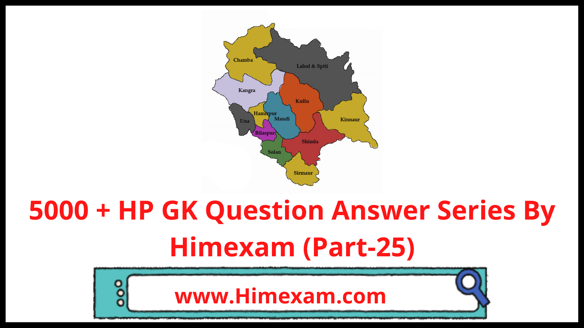 5000 + HP GK Question Answer Series By Himexam (Part-25)