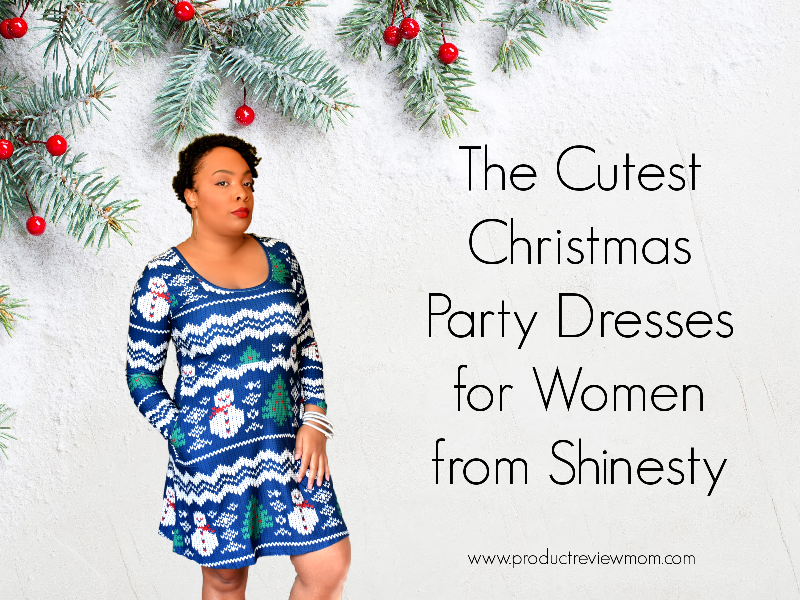 The Cutest Christmas Party Dresses for Women from Shinesty