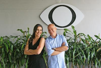 Glenda Kozlowski e Elia Júnior comandam o Show do Esporte aos domingos a partir das 10h - Divulgação
