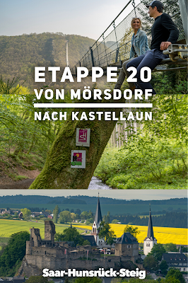 Saar-Hunsrück-Steig Etappe 20 Von Mörsdorf nach Kastellaun  Hängebrücke Geierlay Wandern im Hunsrück Traumschleifen-Hunsrück 22