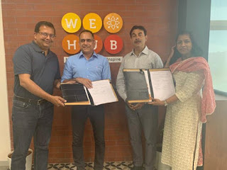 WE Hub Partnered with i-Hub