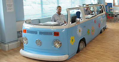 VW Campervan Desk