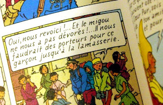Tintin, lamasserie ou lamaserie
