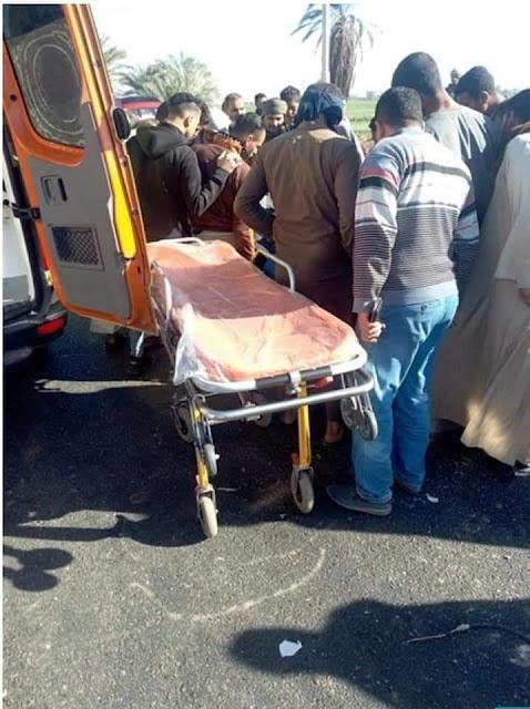 مصرع 3 أشخاص في حادث تصادم بين سيارتين بسوهاج