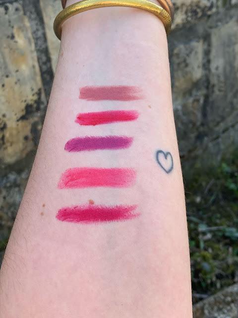 mes 5 rouges à lèvres pour le Printemps 💋💄