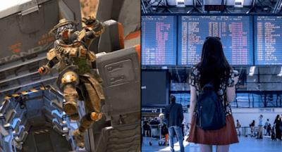Fans Apex Legends Bajak Monitor Bandara Untuk Bermain Sebelum Keberangkatan
