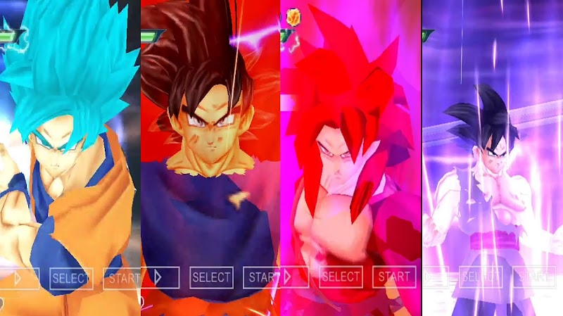 Dragon Ball Super X Heroes Android PSP Game DBZ TTT MOD Download