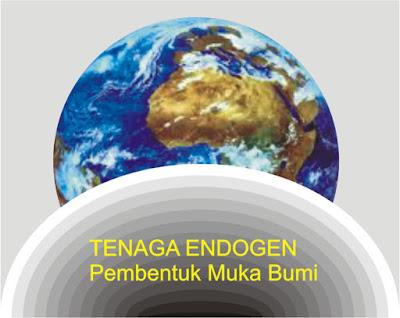 tenaga endogen pembentuk bumi