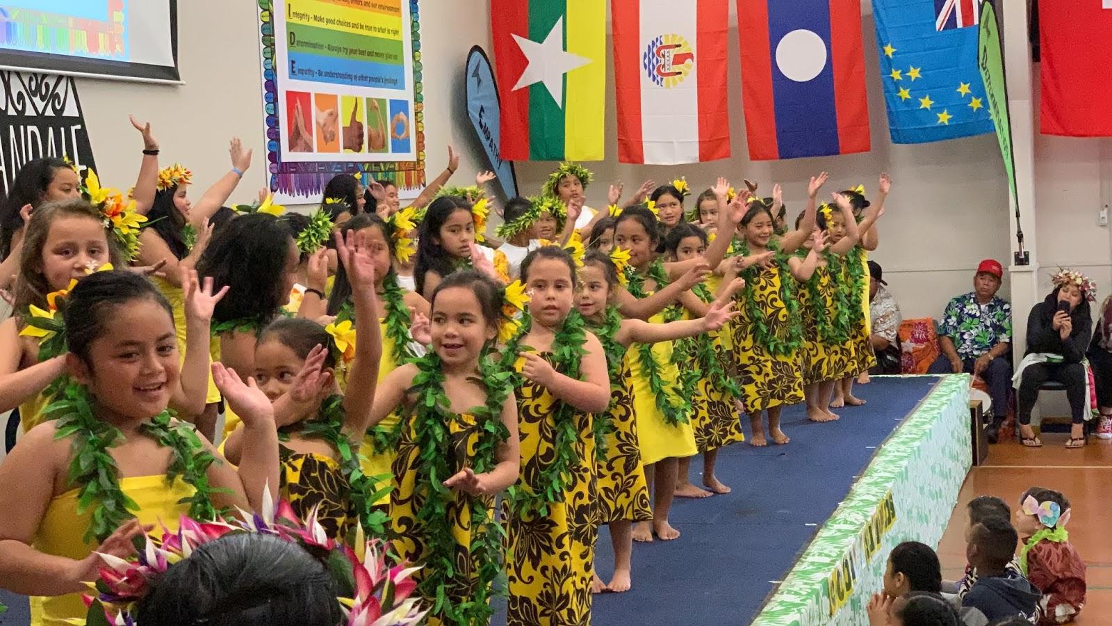Cook Island Language Week 2019 - Rowandale School