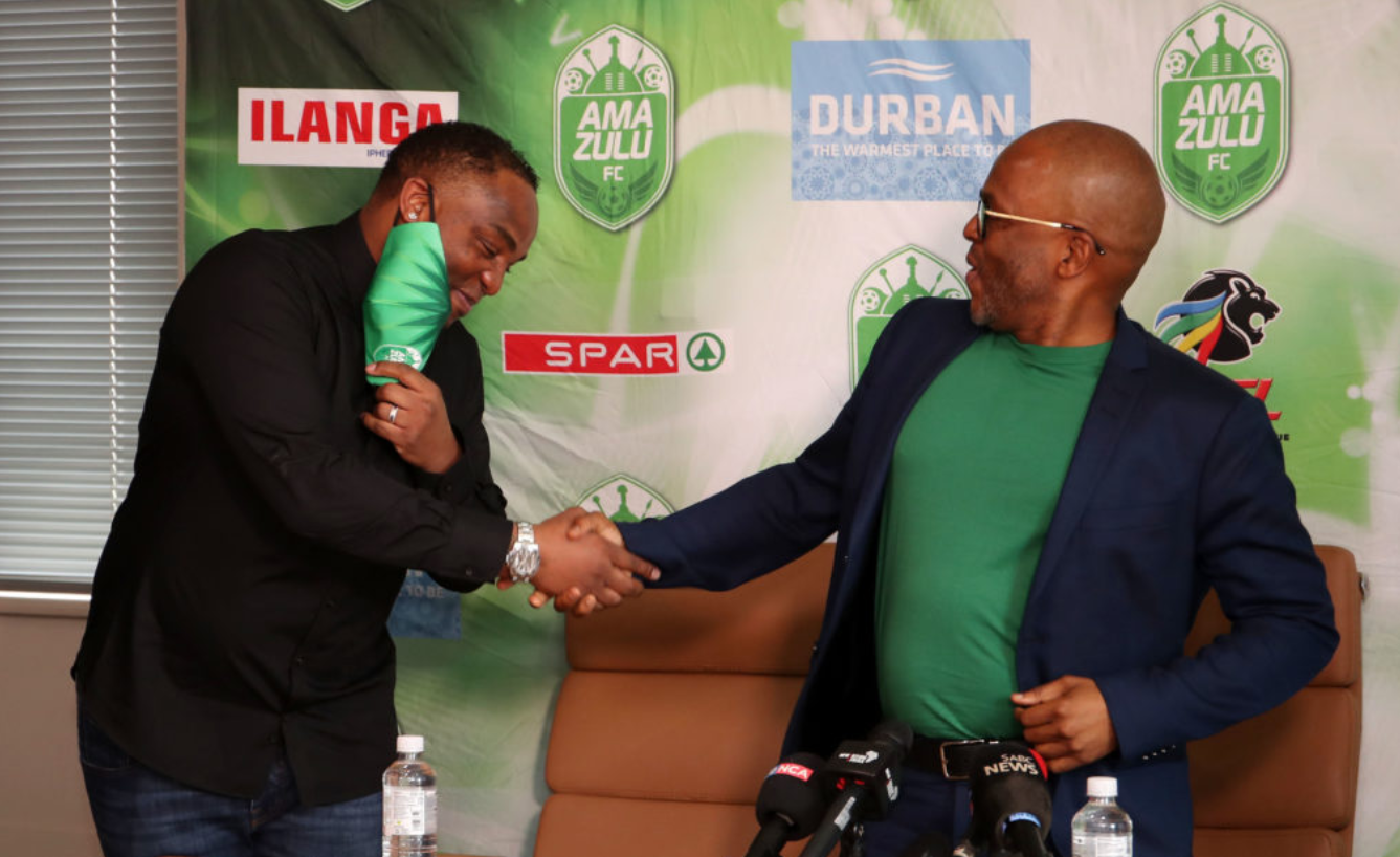 Benni McCarthy will take charge of his first match as AmaZulu coach against Chippa