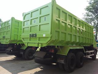 Hino dump truk indeks 28 kubik