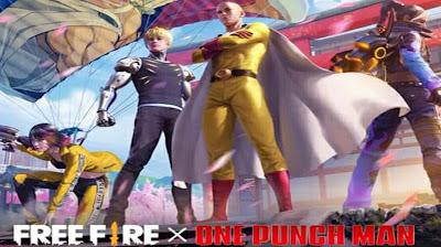 ff Akan Berkolaborasi dengan Anime One Punch Man