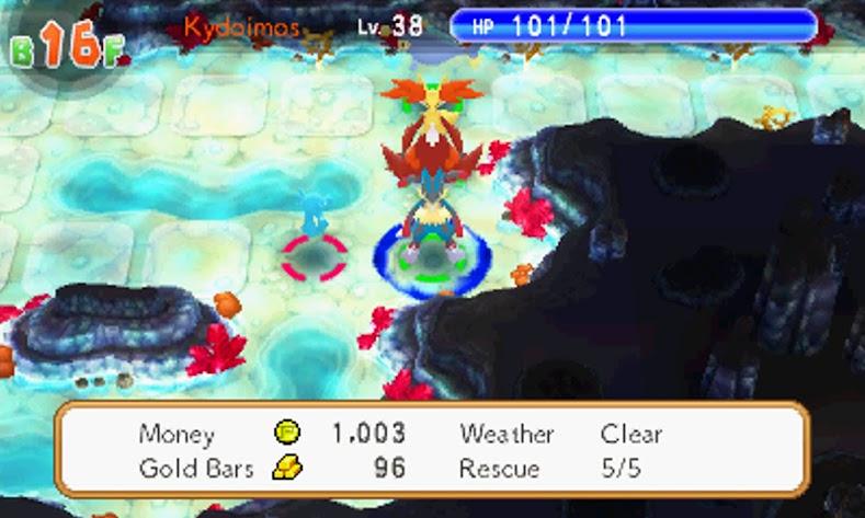 Pokémon Super Mystery Dungeon Mega Evolução