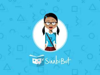 SimbiBot app opening page
