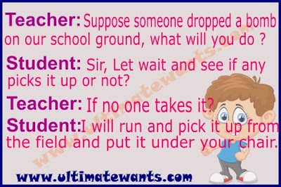 Funny teacher student jokes