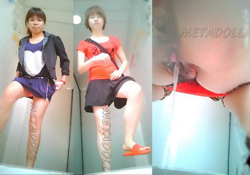 ChinaVoyeur 461-480 (Chicks pissing in the public toilet voyeur videos)