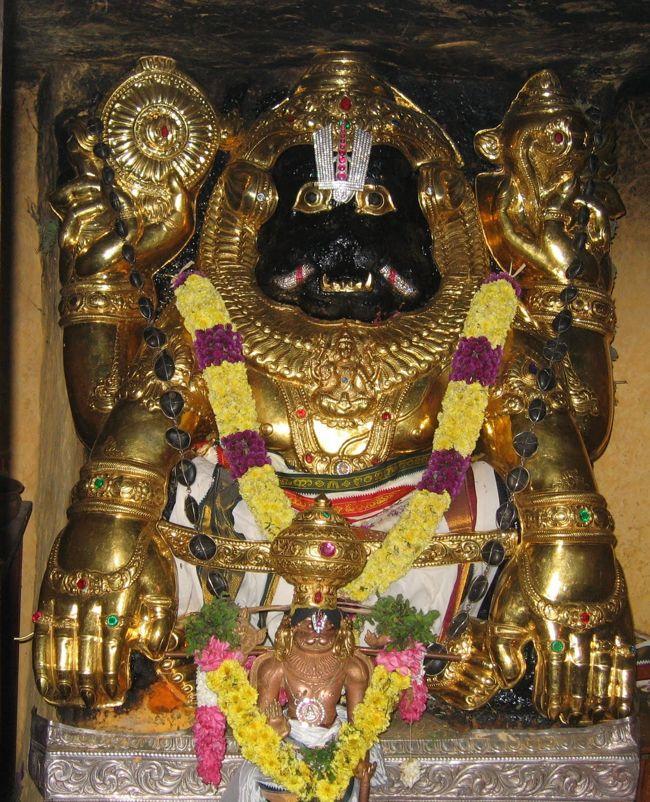 Yoga Narasimha Perumal Temple Main Deity
