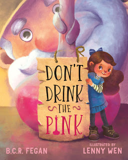 Don't Drink The Pink by B.C.R. Fegan book review and giveaway