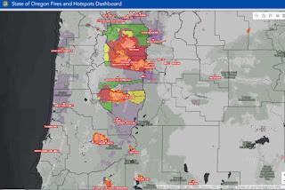 Half a million people evacuated as US wildfires rage