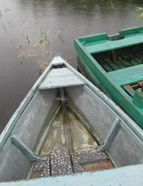 Вода в лодке