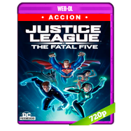 Justice League vs the Fatal Five (2019) WEB-DL 720p Audio Dual Latino-Ingles