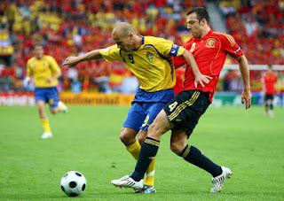 مشاهدة مباراة اسبانيا والسويد