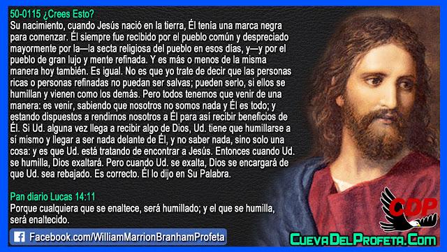 Una marca negra sobre Jesús - William Branham en Español