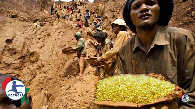 Penemuan Gunung Emas di Kongo