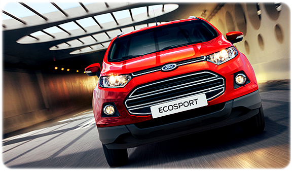 Spesifikasi Wajah All New Ford Ecosport 2015
