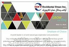 شركة اوكسيدنتال عمان OXY (الاحد 16 / 2 / 2020) - وظيفة شاغرة