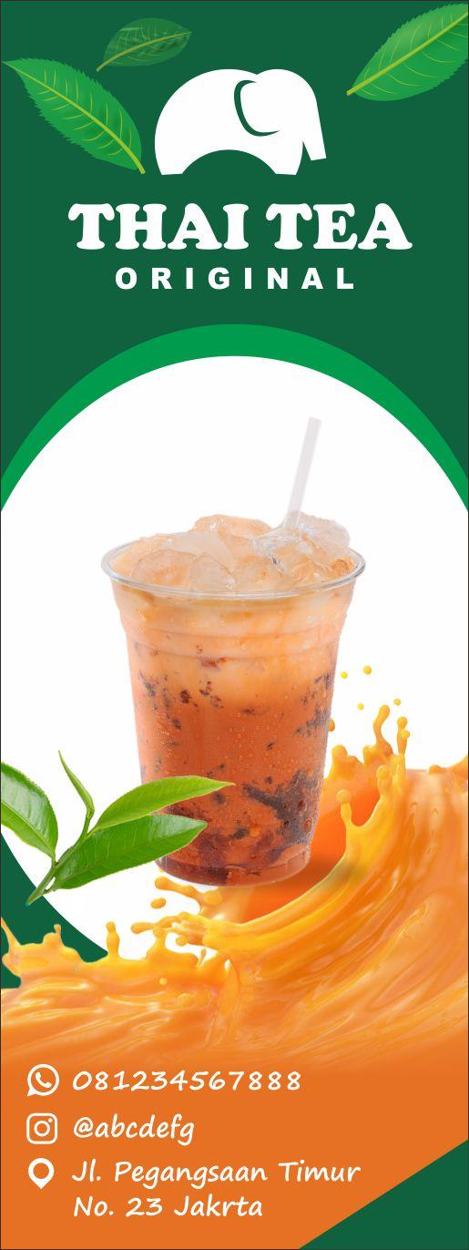 banner thai tea