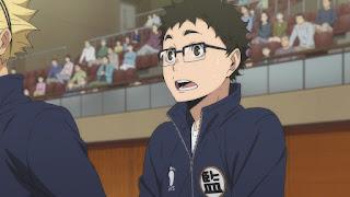 ハイキュー!! アニメ 3期8話 武田一鉄   Karasuno vs Shiratorizawa   HAIKYU!! Season3