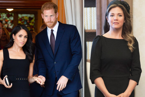 Harry and Meghan are very concerned for pal Sophie Trudeau after coronavirus diagnosis