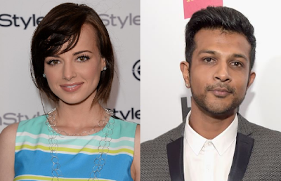 Ashley Rickards y Utkarsh Ambudkar