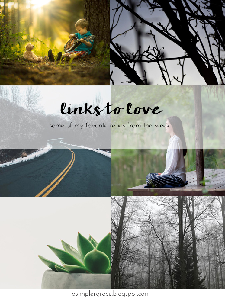 My favorite reads from the week.  #linkstolove #fridayfavorites - Links to Love | 80 - A Simpler Grace