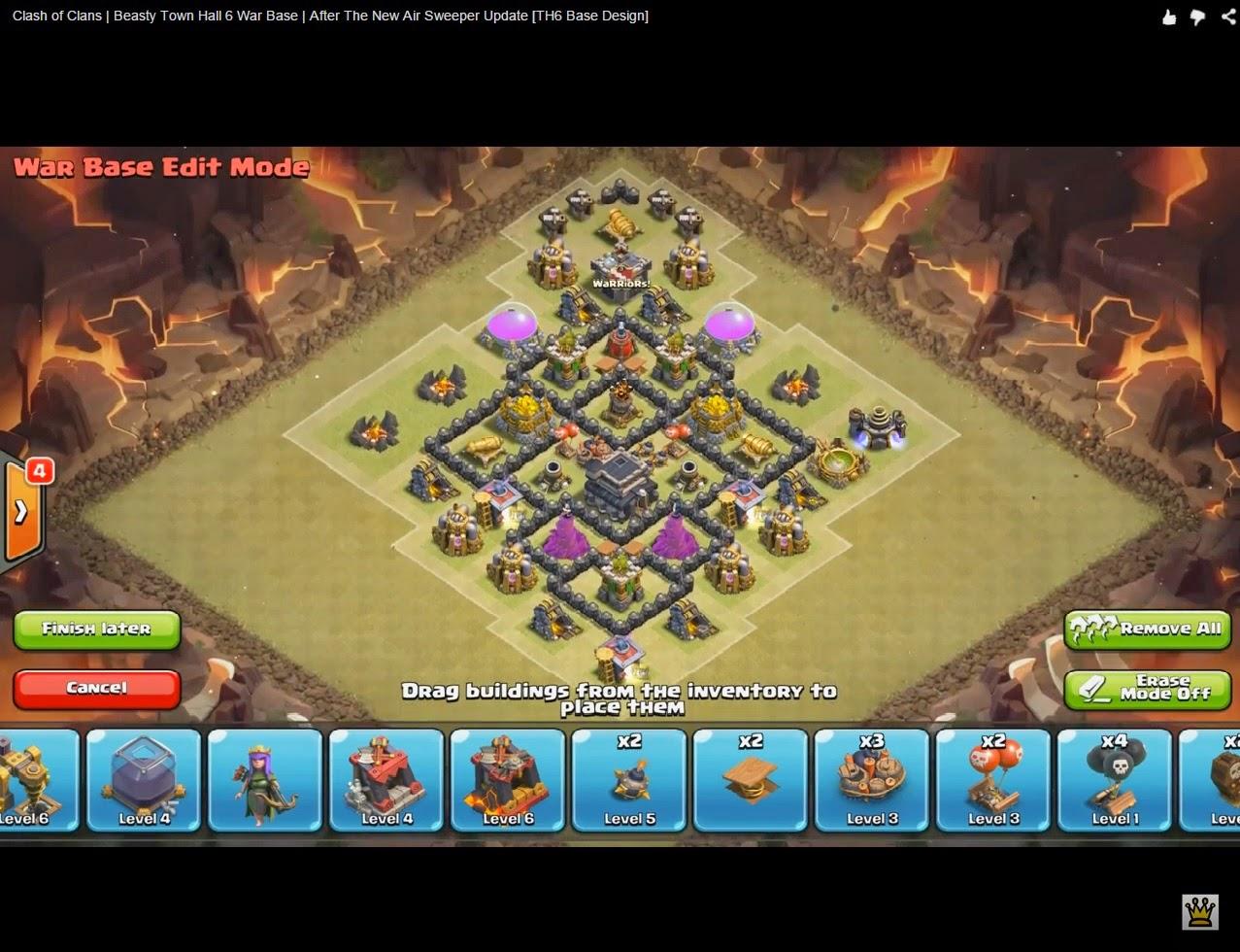 Coc Builder Base Th 6 2