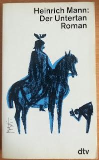 Das Bild zeigt das Buch Der Untertan