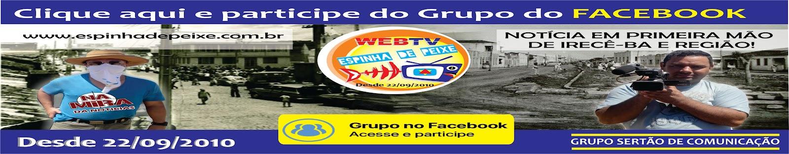 PARTICIPE DO NOSSO GRUPO NO FACEBOOK