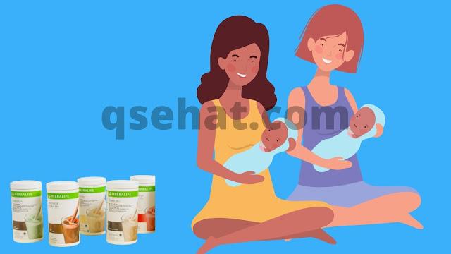 Harga Paket Herbalife Untuk Ibu Menyusui