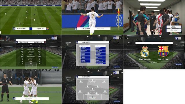 PES 2017 Real Madrid TV Scoreboard by FA Mod Pes