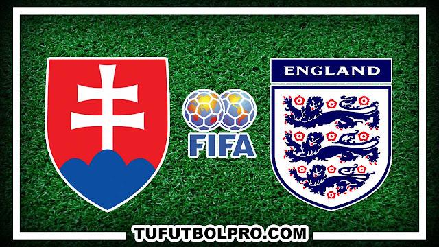 Ver Eslovaquia vs Inglaterra EN VIVO Por Internet Hoy 4 Septiembre 2016