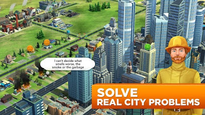 SimCity BuildIt Full Mod Terbaru v1.20.51.68892 Apk Data Update Januari 2018