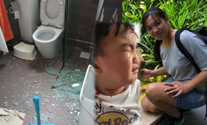 Filipina helper walks barefoot on broken glass to save Singaporean toddler