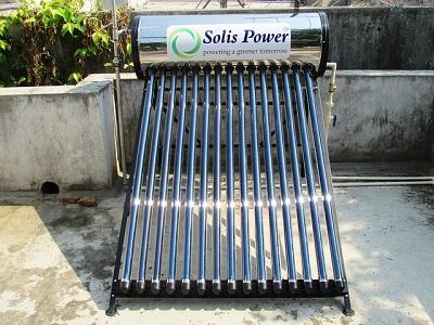 इस Solar Radiation का Use करके एक Solar Water Heating System बना सकते है